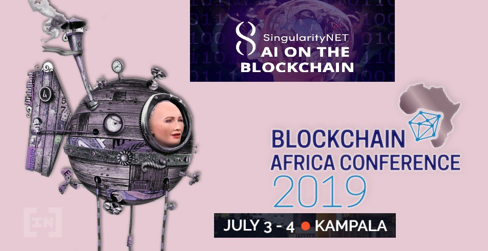 SingularityNET (AGI): Sophia Guest at the Africa Blockchain Conference 2019