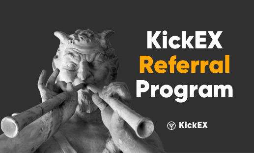 KickRef — most profitable referral system on the exchange market.