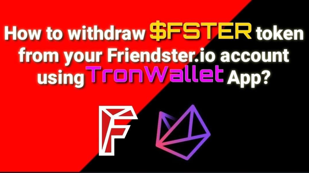 How to withdraw FRIENDSTER Token!