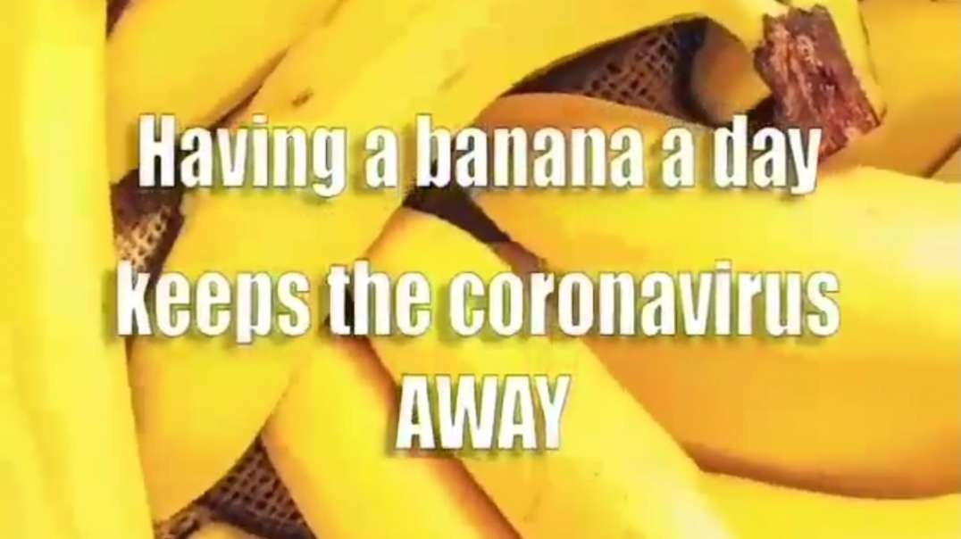 Banana can Fight the Corona Virus