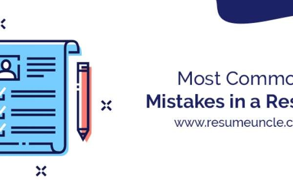 Most Common Mistakes in a Resumes