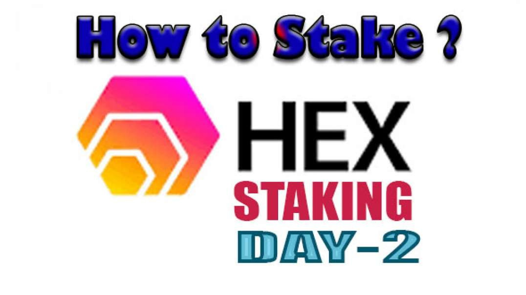 HEX STAKING DAY-2 | HOW TO STAKE?
